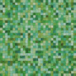 Stock Photo: Smooth irregular green tiles