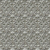 Silver metallic pattern — Stock Photo
