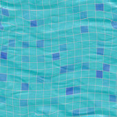 Sl submerged tiles med — Stock Photo