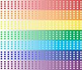 Smooth rainbow banners — Stock Photo