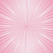 Sunburst pale pink — Stock Photo