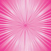 Sunburst pink — Stock Photo