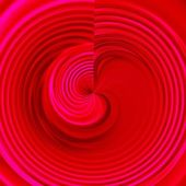 Bloody Red Heart Ripple — Stock Photo