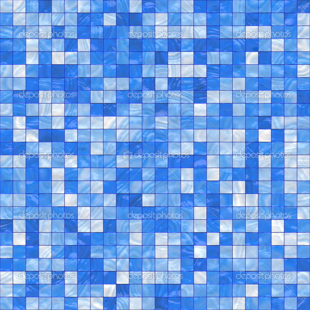 Small blue tiles — Stock Image © Sybille Yates #