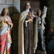Group of Saints  in the parish church — Stock Photo