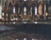 Intérieur d'Église français — Photo