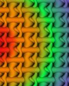 Rainbow pattern 2 — Stock Photo