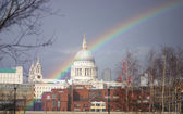 St Paul Rainbow — Stock Photo