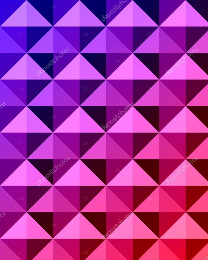 Triangle background, rembering the design of the seventies/eighties — Stock Photo #2526296