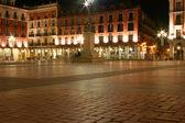 Nachtansicht des alten Rathauses — Stockfoto