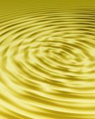 Gold ripples full frame — Stock Photo