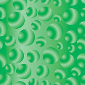 Seamless green bubbles pattern — Stock Photo