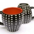 Two dotted coffee mugs — Stock Photo #2267375
