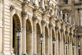 Architecture in Paris. Louvre. — Stock Photo