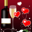 Valentines Day Background - Foto Stock