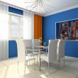 Dining room — Stock Photo #2219509
