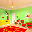 Children's room - Stock Photo