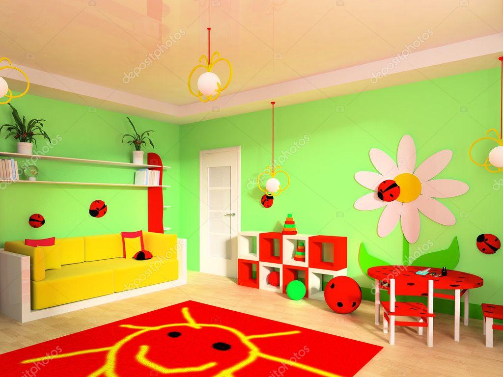Childrens Room Stock Photo Akaciya 2275688