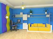 O quarto das crianças — Foto Stock
