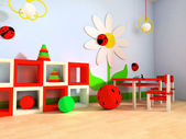 Kinderzimmer — Stockfoto