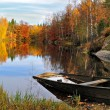 Royalty-Free Stock Photo: Autumn\'s Swedish lake