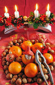 Christmas delicacies — Stock Photo