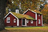 Old Swedish house — Stock Photo