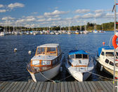 Yacht harbour — Stock Photo
