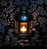 фонарь луны — Стоковое фото