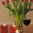 am Abend Romantik — Stockfoto