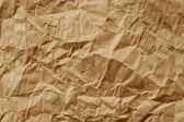 Brown crumpled paper — Stock Photo