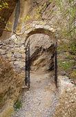 Stone gate — Stock Photo