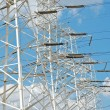 Stock Photo: Power pylons