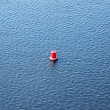 Buoy on water — Stock Photo