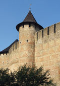 Medieval castle wall — Stock Photo
