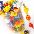 Colored glass beads — Stock Photo #2572270