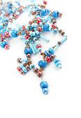 String of glass beads — Stock Photo