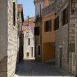 Bystreet in Jelsa, Croatia — Stock Photo