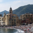 Camogli town view , Liguria, Italy - Stock Photo