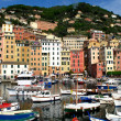 Camogli town view , Liguria, Italy - Foto Stock