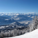Crans-montana — Stockfoto #2380420