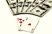 Blackjack, also known as Twenty-one — Stock Photo
