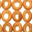 Bread-rings isolated on white — Stock Photo