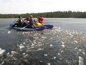 Catamaran rafting — Stock Photo