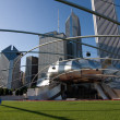Millenium park, Chicago, Illinois - Stock Photo