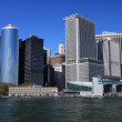 Lower Manhattan skyline — Stock Photo #2384173