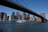 Pont de brooklyn à new york city — Photo