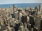 Aerial view of Chicago, Illinois — Stock Photo