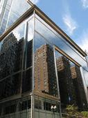 Reflections on skyscraper, Chicago — Stock Photo