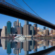 Stock Photo: Brooklyn Bridge, New York City
